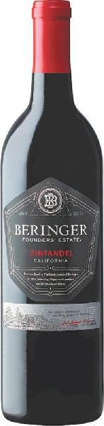BeringerFounders Estate Zinfandel Jg. 2013-14 95% Zinfandel, 3% Petit Syrah, 2% CarignanU.S.A. Kalifornien Beringer