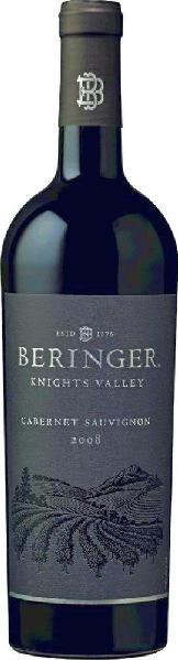 BeringerCabernet Sauvignon Knights Valley Jg. 2011U.S.A. Kalifornien Beringer