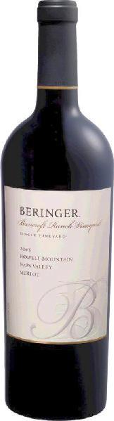 BeringerMerlot Bancroft Ranch Private Reserve Nappa Valley Jg. 2006U.S.A. Kalifornien Beringer