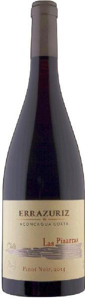 ErrazurizLas Pizarras Pinot Noir Aconcagua Costa Jg. 2014Chile Ch. Sonstige Errazuriz
