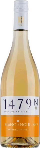 NellesBlanc de Noir Spätburgunder trocken Qualitätswein von der Ahr Jg. 2015Deutschland Ahr Nelles