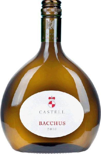 R2000902006 Castell Schloss Bacchus Franken Weisswein trocken  im Boxbeutel B Ware Jg.2015