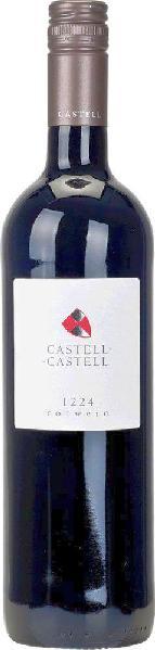 R2000902058 Castell 1224 trocken Rotwein Cuvee aus Domina, Dornfelder, Acolon, Regnet B Ware Jg.2014