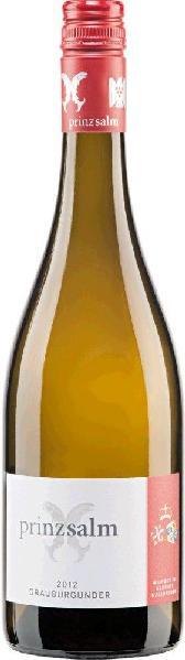 Prinz zu Salm Dalberg.Grauburgunder trocken Qualitätswein Jg. 2015-16Deutschland Rheinhessen Prinz zu Salm Dalberg.
