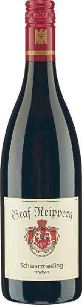 Graf NeippergSchwarzriesling Rotwein trocken Qualit�tswein aus W�rttemberg Jg. 2013Deutschland W�rttemberg Graf Neipperg