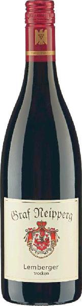 Graf NeippergLemberger Rotwein trocken Qualit�tswein aus W�rttemberg Jg. 2012-13Deutschland W�rttemberg Graf Neipperg
