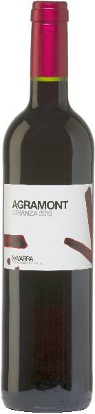 AgronavarraAgramont Crianza Jg. 2012-13 Cuvee aus Tempranillo (40 %), Cabernet Sauvignon (30 %), Merlot (30 %) 12 Monate in amerik. und franz. Eiche gereiftSpanien Navarra Agronavarra