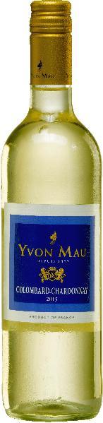Yvon MauColombard Chardonnay Jg. 2015-16 Cuvee aus Colombard (75 %), Chardonnay (25 %)Frankreich Gascogne Yvon Mau