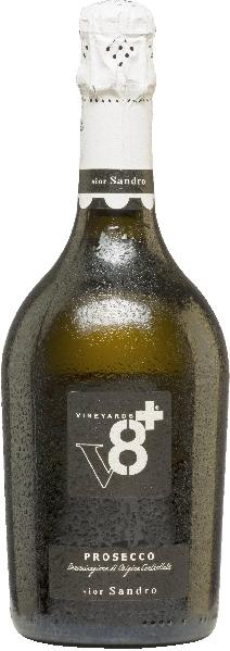Vineyards v8+Sior Sandro Prosecco Extra DrySekt Vineyards v8+