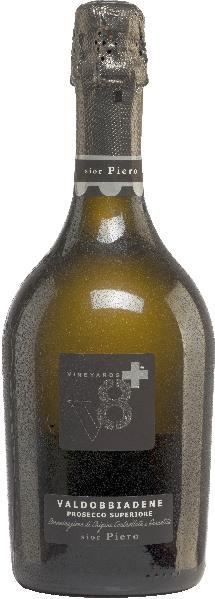 Vineyards v8+Sior Piero Valdobbiadene Prosecco Superiore Extra DrySekt Vineyards v8+