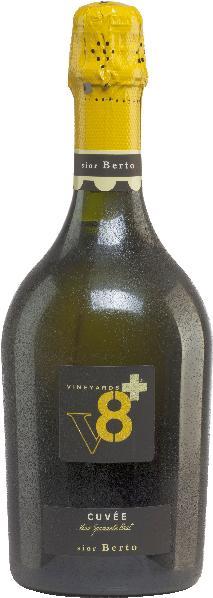 Vineyards v8+Sior Berto Cuvee Vino Spumante BrutSekt Vineyards v8+