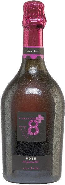 Vineyards v8+Sior Lele Rosé Vino Spumante BrutSekt Vineyards v8+