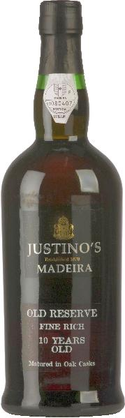 MadeiraOld Reserve Fine Rich 10 Years OldPortugal Madeira