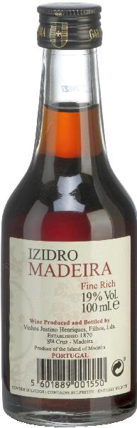 MadeiraIzidro Fine Rich 3 Years OldPortugal Madeira