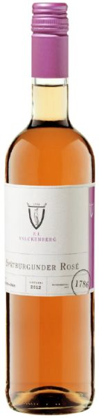 R2600100400 P.J.Valckenberg Spätburgunder Rose Qualitätswein halbtrocken B Ware Jg.2016