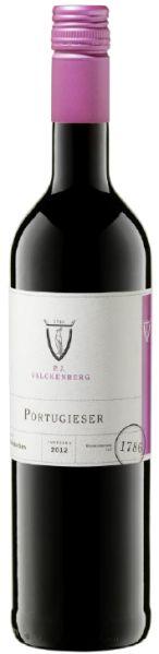 R2600100500 P.J.Valckenberg Portugieser Rotwein Qualit�tswein halbtrocken  B Ware Jg.2014-15