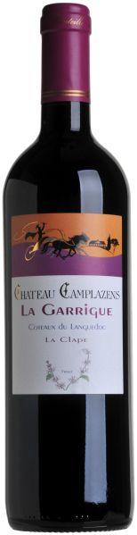 CamplazensLa Garrigue Coteaux du Languedoc AOC Cru La Clape Fut de Chene Chateau  Jg. 2012-13Frankreich S�dfrankreich Languedoc Camplazens