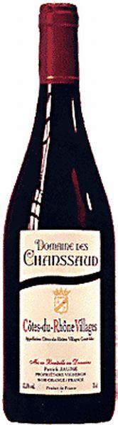 Dom. des ChanssaudCotes du Rhone Villages AOC Domaine de Chanssaud Jg. 2012-13Frankreich Rhone Dom. des Chanssaud