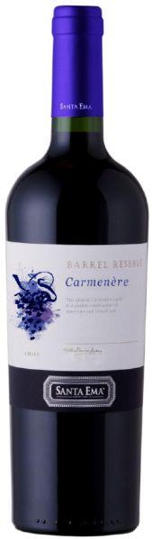 Mehr lesen zu :  R2600112337 Santa Ema Barrel Select Carmenere Reserve Holzfass Valle del Cachapoal DO B Ware Jg.2012