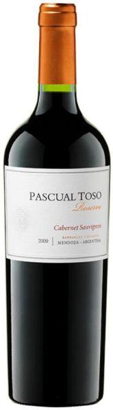 R2600112935 Pascual Toso Selected Vines Cabernet Sauvignon Reserva Holzfass Jg. 2014, 12 Monate in Fässern aus französicher Eiche und 4 Monate auf der Flasche B Ware