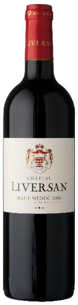 LiversanChateau  Cru Bourgeois Superieur Haut Medoc AOC  Jg. 2012Frankreich Bordeaux Medoc Liversan