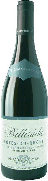 M. ChapoutierBelleruche Cotes du Rhone AOC 60% Grenache, 40% SyrahFrankreich Rhone M. Chapoutier