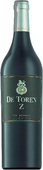 De TorenZ W.O. Stellenbosch Jg. 2015 Cuvee aus 38 % Merlot, 25% Cabernet Franc, 19% Cabernet Sauvignon, 10% Malbec, 8% Petit VerdotSüdafrika Kapweine Stellenbosch De Toren