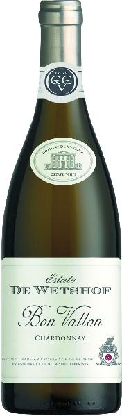 R2900925912 Danie de Wet De Wetshof Estate bon Vallon Chardonnay Wine of Origin Robertson B Ware Jg.2015