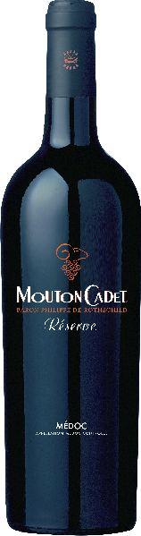 RothschildMounton Cadet Reserve Medoc AOC Jg. 2014Frankreich Bordeaux Rothschild