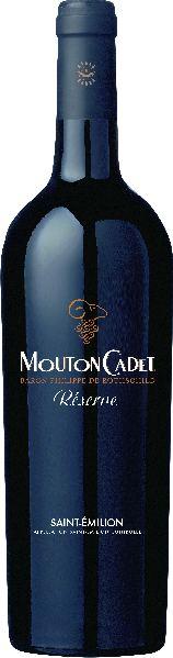 RothschildMouton Cadet Reserve Saint-Emilion AOC Jg. 2014Frankreich Bordeaux Rothschild