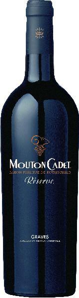 RothschildMounton Cadet Reserve Graves rouge AOC Jg. 2014Frankreich Bordeaux Rothschild