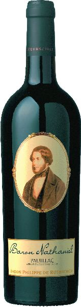 RothschildBaron Nathaniel Pauillac AOC Jg. 2013Frankreich Bordeaux Rothschild