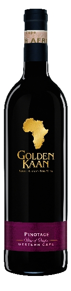 R3000433900 Golden Kaan Pinotage Western Cape **anderes Etikett** B Ware Jg.2014