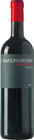 MandrarossaNero d Avola Costadune Sicilia DOC Jg. 2016Italien Sizilien Mandrarossa