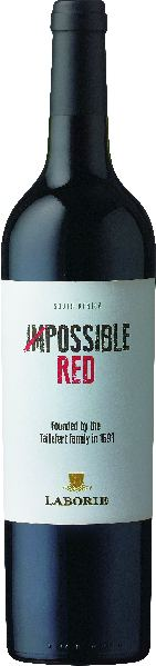LaborieImpossible Red Western Cape 2016 Cuvee aus 80% Pinotage, 20% ShirazSüdafrika Paarl Laborie