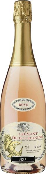 Caves de Marsigny.Cremant de Bourgogne Rose brut AOC Cuvee aus Pinot Noir, GamaySekt Caves de Marsigny.