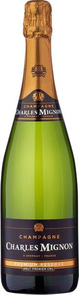 Charles MignonChampagne Premium Reserve Brut Premier Cru Cuvee aus 75% Pinot Noir, 25 % ChardonnayChampagne Charles Mignon
