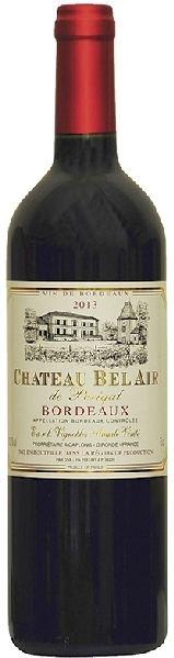 Bel Air de PerigalChat.   Bordeaux A.O.C. Cabernet Sauvignon, Merlot, Cabernet Franc Jg. 2014Frankreich Bordeaux Bel Air de Perigal
