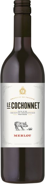 R3100140025 Le Cochonnet Merlot Vin de Pays d Oc B Ware Jg.2014