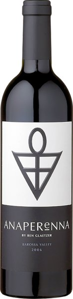 Glaetzer WinesAnaperenna by Ben Glaetzer Barossa Valley limitiert Jg. 2012 Shiraz 84%, Cabernet Sauvignon 16%Australien Barossa Valley Glaetzer Wines