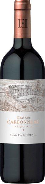 CarbonneauChateau  Sequoia Jg. 2015 Cuvee aus 70% Merlot, 30% Cabernet FrancFrankreich Bordeaux Carbonneau