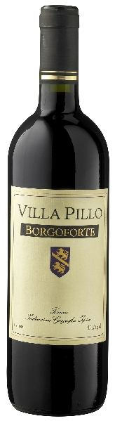 Villa PilloBorgoforte Rosso Toskana IGT Jg. 2014 Cuvee aus Sangiovese 60%, Cabernet Sauvignon 30%, Merlot 10%Italien Toskana Villa Pillo