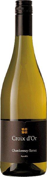 R4000206701 Croix d Or Chardonnay Terret Vin de Pays d Oc **neues Etikett B Ware Jg.