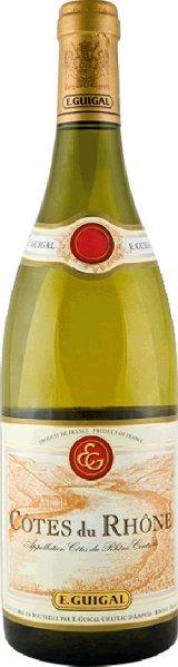GuigalCotes-du-Rhone Blanc Cotes-du-Rhone A.O.C. Viognier, Roussane, Marsanne Jg. 2014Frankreich Rhone Guigal