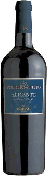 Poggio al Tufo TommasiAlicante Maremma Toscana I.G.T. Jg. 2012Italien Toskana Poggio al Tufo Tommasi