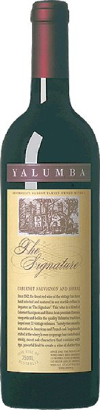 YalumbaRare & Fine The Signature Barossa, Cabernet Sauvignon & Shiraz limitierte Menge Jg. 20010-11 57 % Cabernet Sauvignon und 43 % ShirazAustralien South Australia Yalumba