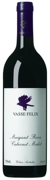 Vasse FelixCabernet Merlot Margaret River Jg. 2012 53 % Cabernet Sauvignon, 44 % Merlot und 3 % Cabernet Franc.Australien Margaret River Vasse Felix