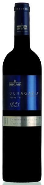 OchagaviaCabernet Sauvignon Reserva 1851 Jg. 2011 90 % Cabernet Sauvignon, 5 % Merlot und 5 % Cabernet FrancChile Rapel Valley Ochagavia
