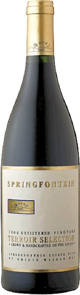 Mehr lesen zu :  R4000532001 Springfontein Pinotage Terroir Selection  B Ware Jg.2011