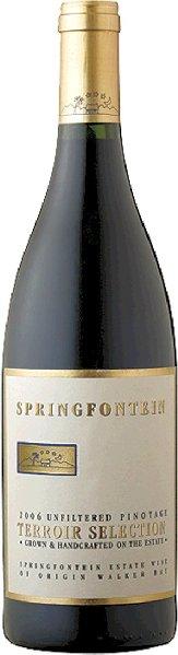 R4000532001 Springfontein Pinotage Terroir Selection  B Ware Jg.2011
